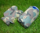 Promotional Collapsible Neoprene Stubby Cooler, Camo Can Holder (BC0040)