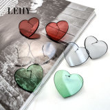 Hot Fashion Stud Earrings Jewelry Heart-Acrylic Earrings Designs for Lady