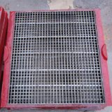 Heavy Duty Crimped Wire Mesh Carbon Steel Mine Sieving Mesh