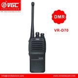 UHF 400-470MHz Professional Dmr Digital Ctcss/Dcs Walkie Talkie