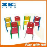 Kids Plastic Back-Rest Chair for Kindergarten