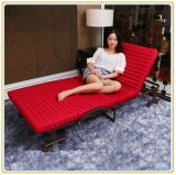Red Double Rollaway Guest Bed 190*100cm/Folding Bed