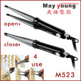 Factory Price Mch Fast 2 in 1 Hair Curler Flat Iron Hair Straightener