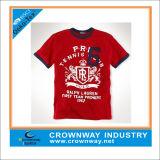 Promotional Custom Print Cotton Polyester T-Shirt for Men
