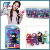 6 Colors Fingerlings Interactive Baby Monkeys Smart Finger Monkey Toy