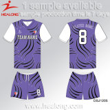 Healong Latest Design Sports Gear Customize Dye Sublimation Junior Soccer Sets