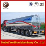 45000L Aluminum Oil Tank Semi Trailer 3 Axle Air Suspension