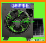 2015 The Most Fashionable Box Solar Rechargeable Fan