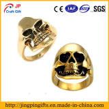 Hot Sale Gold Skull Metal Finger Ring