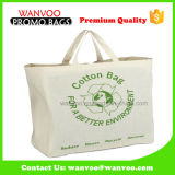 High Quality 100% Cotton Fabric Promotional Tote Bag for Shopping