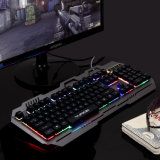 Colorful Gamer Backlight Keyboard with Aluminum Alloy Design (KB-906EL-C)
