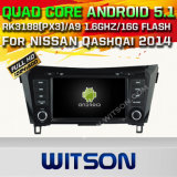 Witson Android 5.1 Car DVD GPS for Nissan Qashqai 2014 with Chipset 1080P 16g ROM WiFi 3G Internet DVR Support (A5537)