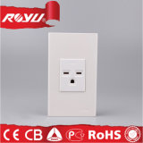 Thailand Itsi Wall Socket 220V, 3pin Multi Vertical Outlet Socket