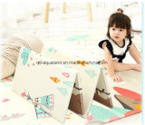 Non-Toxic Children Kids Cartoon Soft Cotton Play Mat Crawling Creeping Blanket