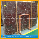 Polished Rosso Lepanto Red Marble Slabs Tiles, Rosso Levanto Marble