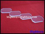 Coner Cut Square Fused Silica Quartz Glass Slide