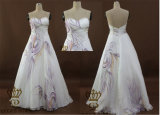 Painted Ladies Fashion Bra Evening Dress, Prom Dress, Tailored