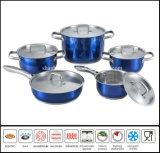 10PCS China Product Induction Color Cookware