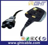 UK Power Cord & Power Plug for Laptop Using