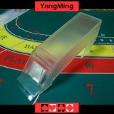 8 Deck / Transparent Clear Acrylic Poker Dealer Shoe Acrylic Lunceny Playing Card Dealer Shoes