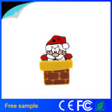 Christmas Promotional Gift 4GB 8GB Santa Claus Use Flash Drive (JV1199)
