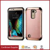Slim Fit Heavy Duty PU Leather Case Cover for LG K10