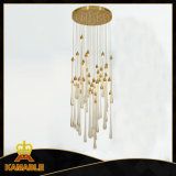 Hotel Decoration Glass Modern Ceiling Lighting (KAP17-023)