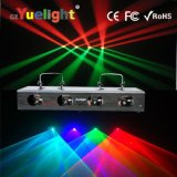 Factory Direct Sell Four Head Four Red & Green/ RGBW Laser Light