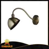 Antique Brass Reading Lamp Wall Mounted (W125)