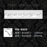 Carved Ceiling Crown Molding Polyurethane Products Hn-8020