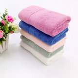 Promotional Hotel / Home Bamboo Fiber Face / Hand / Bath Towel