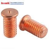 Brass Material Rivet Head Spot Welding Screw