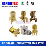 Straight SMA Connector Plug Male Crimp Cable Rg316 Rg174