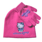 Girl′s Cartoon Animal Knitted Hat (JRK095)