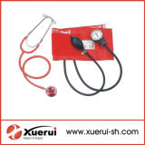 Medical Aneroid Sphygmomanometer with Dual Head Stethoscope