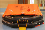 Throw Over Type Marine Inflatable Life Raft