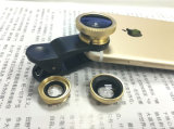 Hot Sale Mobile Phone Lens 3 in 1 Fisheye Lens Wide Angle Lens Marco Lens for Mobile Phone Smart Phone