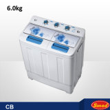 4.0kg Two Tubs Decorated Plastic Washing Machine with Spin Dryer