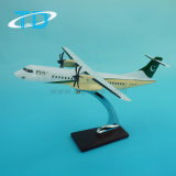 Pia Atr72-500 Plastic Model Airplane with Heavy Body