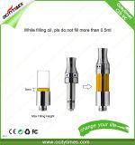 C19-Vc Ceramic Adjustable Vape Cartridge Glass Tank Adjustable Top Airflow Vape Cartridge