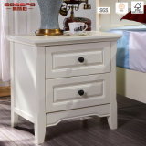Solid Red Oak Painted Bedroom Nightstands Bedside Cabinet (GSP14-006)
