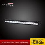 "China 10-60volt 30"" CREE 180W Waterproof LED Light Bar"
