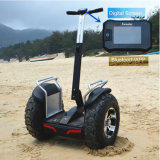 72V Samsung Double Battery off Road Electric Scooter with APP Bluetooth Function