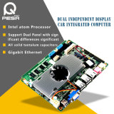 Fanless CPU Motherboard Intel D525+Ich8m Chipset, Onboard Intel Atom D525 Processor