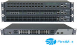 Gigabit Managed Fiber Optic Ethernet Switch 24 Downlink Ports