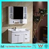 Wall-Mounted White Cabinet Series Oak Wood Bathroom Cabinet