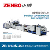 High Speed Automatic Sheet-Feeding Paper Bag Making Machine (High-grade environmental paper bag making ZB1260s-450)