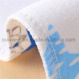 Hot Selling Cute Printed Soft Cotton Baby Bandana Bib