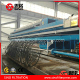 Program Controlled Auto Membrane Filter Press for Waste Water Treatment