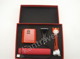 Charging Kit - Conversion Socket + Car Charger + USB Charging Cable + Music Mobile Power